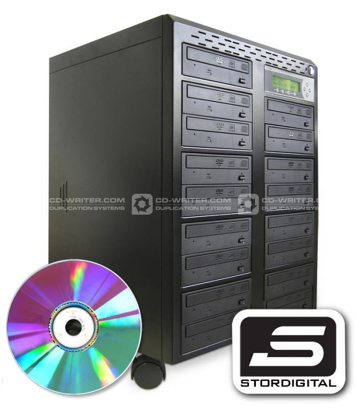 StorDigital Systems unveil NEW PowerTower Pioneer DVD CD Duplicator